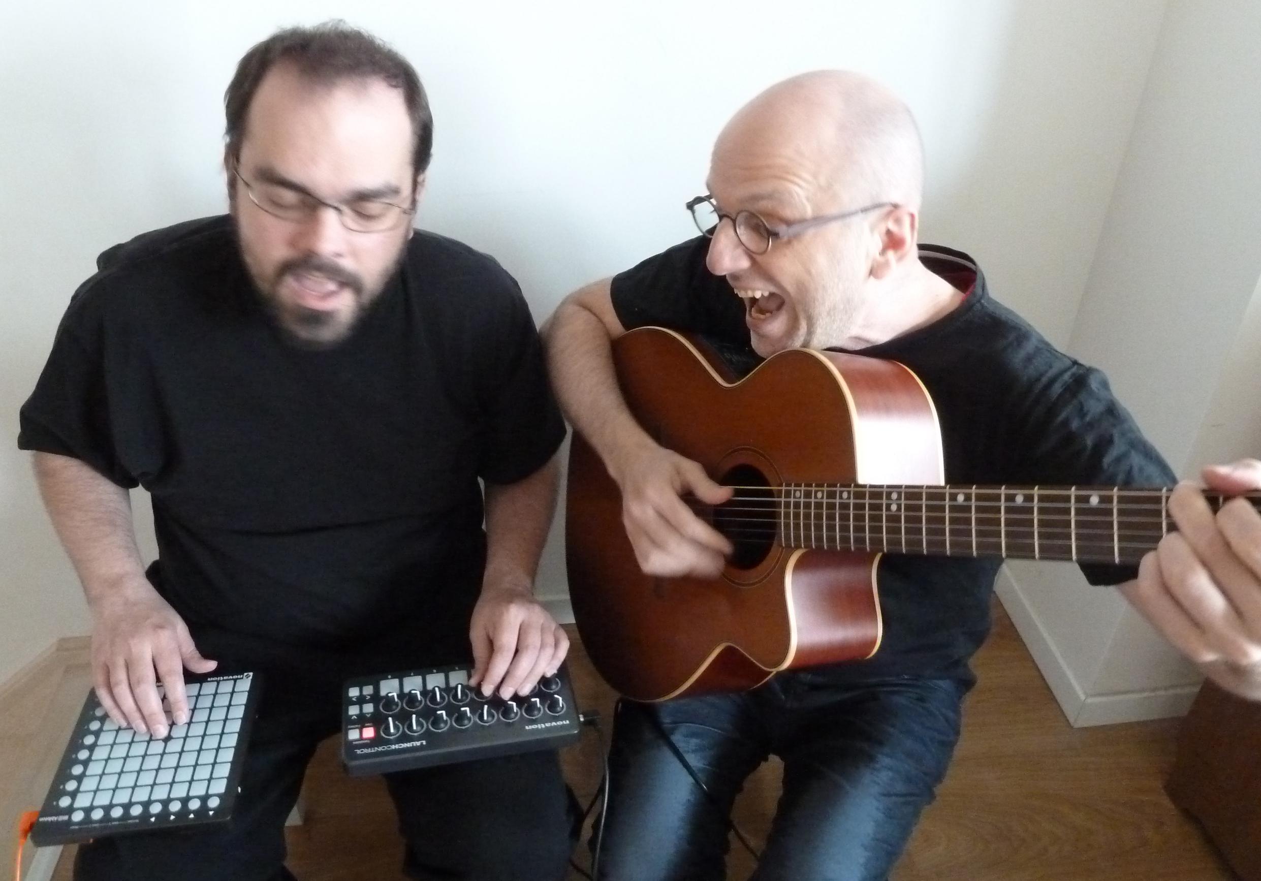 Fabien Mouton et Nico DPS